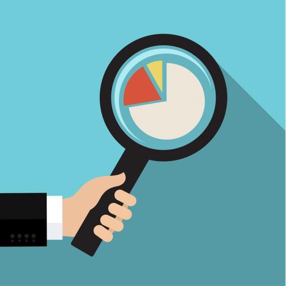 survey analysis magnifying glass