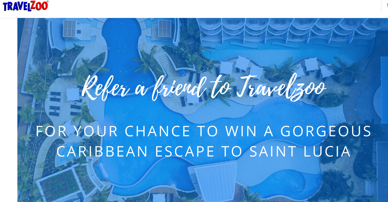 Vacation prizes sweepstakes